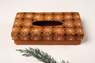 Bengal Kantha Work Handcrafted Tissue Box