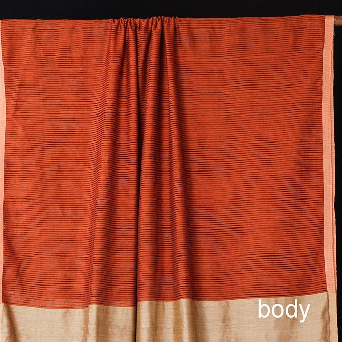 Phulia Bengal Handwoven Silk Cotton Saree