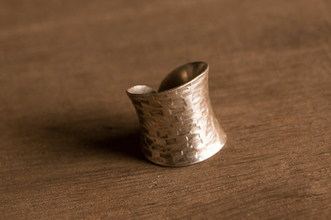 Hilly Sterling Silver Ring