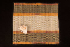 Madur Grass Mat Assan of Midnapur (18 in x 20 in)