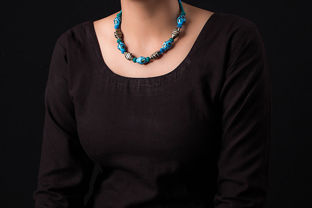 Patwa Threadwork Necklace by Kailash Patwa
