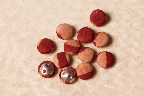 Buttonbaaz Handmade Button (Set Of 12 )