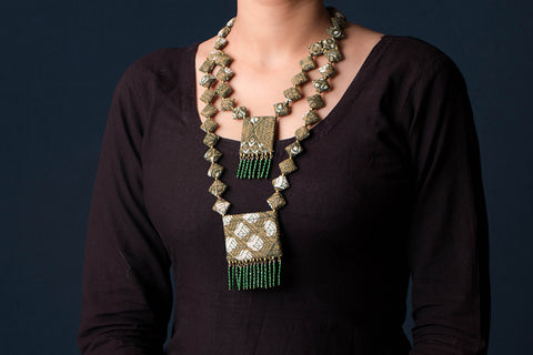Fabart Work Necklace Sets by Mool Creations