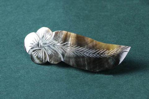 Handcrafted Seashell Hair Clip