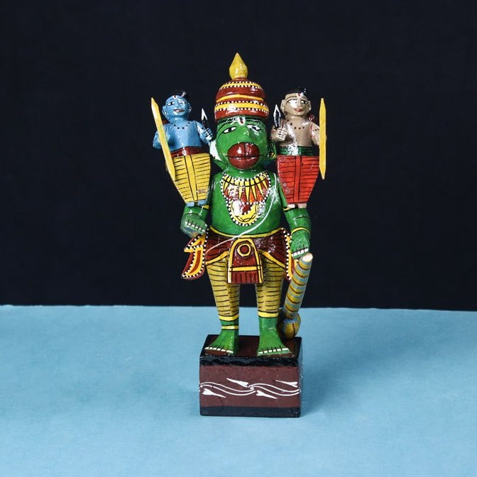 Lord Hanuman - Kondapalli Handcrafted Wooden Toy