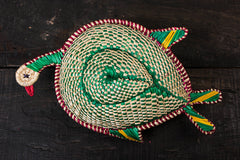 Handmade Sikki Grass Peacock Decorative Multipurpose Box