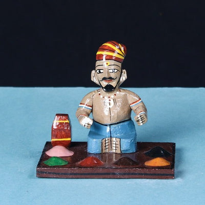 Workers - Kondapalli Handcrafted Wooden Toy