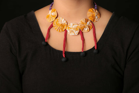 Sanjukta's Fabart Necklace