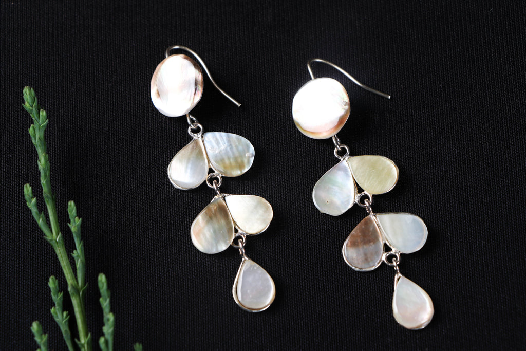 Handcrafted Seashell Earrings