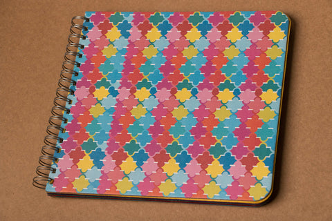 Colourful Ele Poo Notebook  (Medium)
