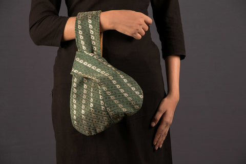 Brocade Loop Style Hand Bag