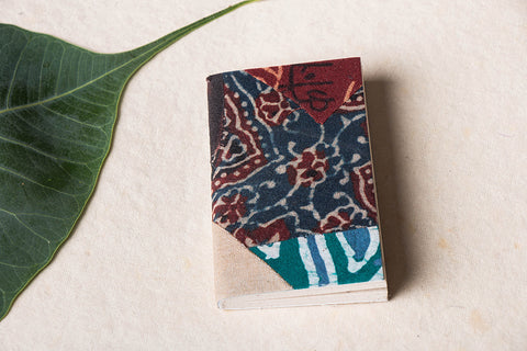 Jugaad Handmade Paper Pocket Small Diary (3in x 2in)