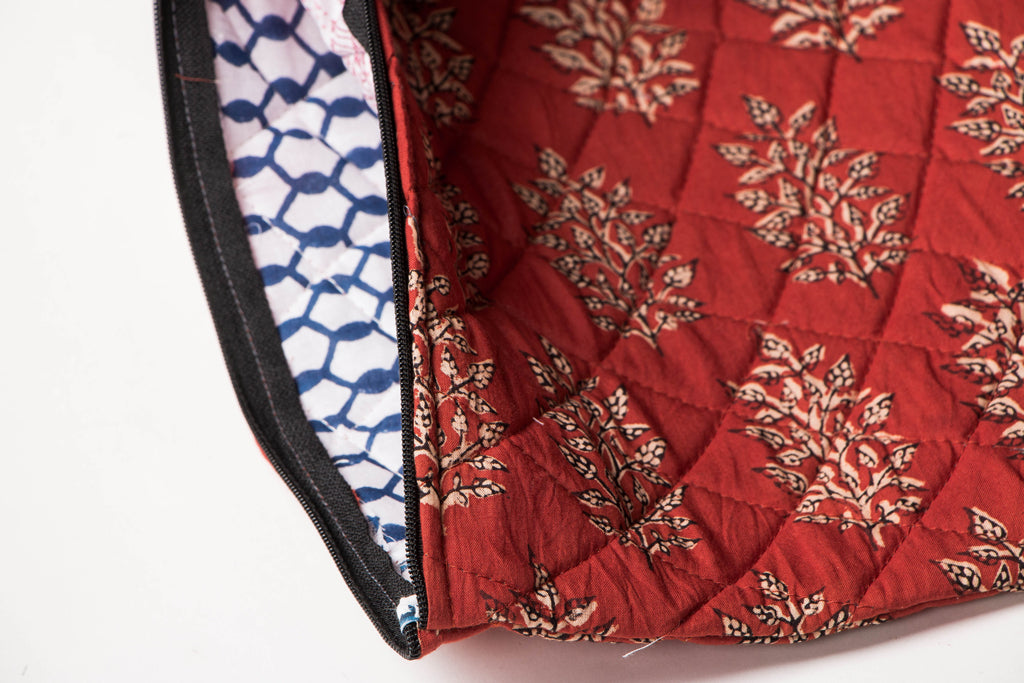 Sonapani Block Print Ipad Sleeve by Chandi Maati