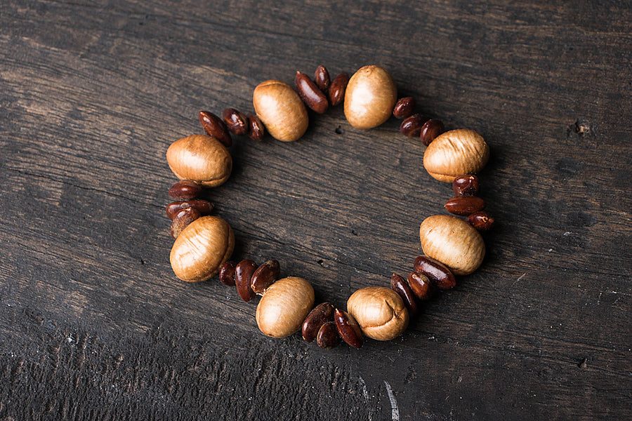 Handmade Natural Seeds Bracelet