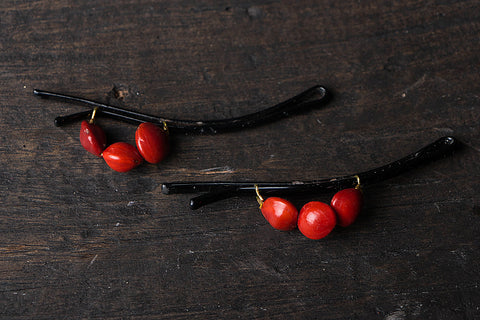 Handmade Natural Seeds Hair Pin