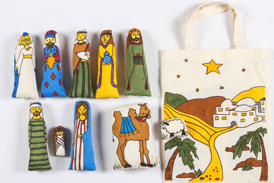 Nativity Doll Bag  ( set of 10 )