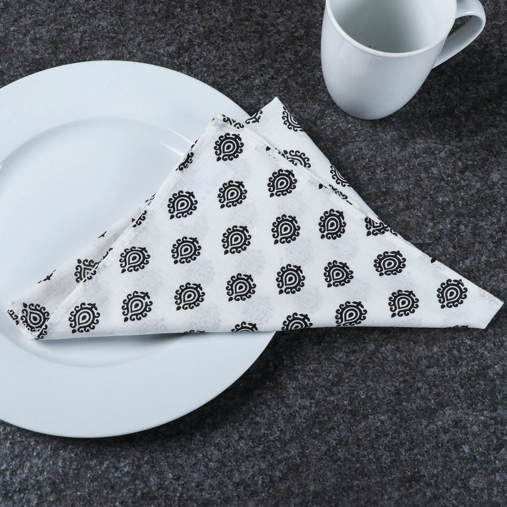 Hand Block Printed Cotton Table Napkin