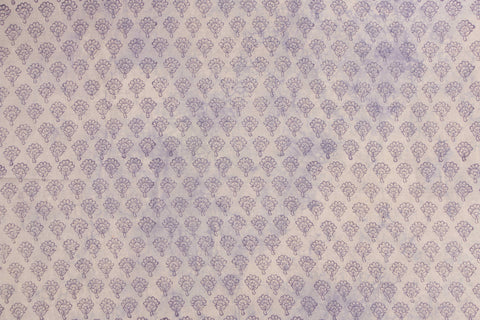 Block Print Precut Cotton Fabric - 1.5 Meter