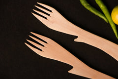 Udayagiri Wooden Forks Set of 2