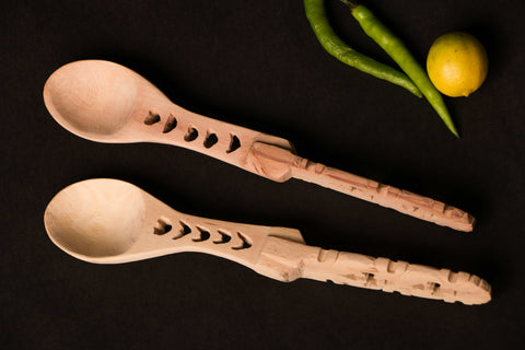 Udayagiri Wooden Spoons Set of 2