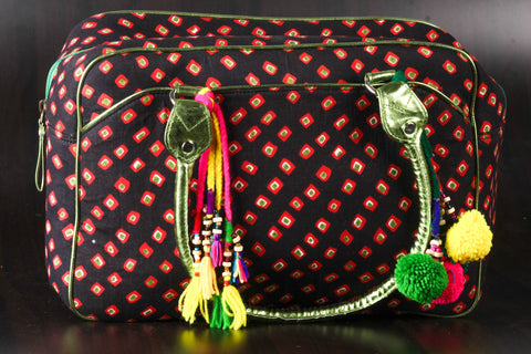AIr Hostess Bag with Tassels