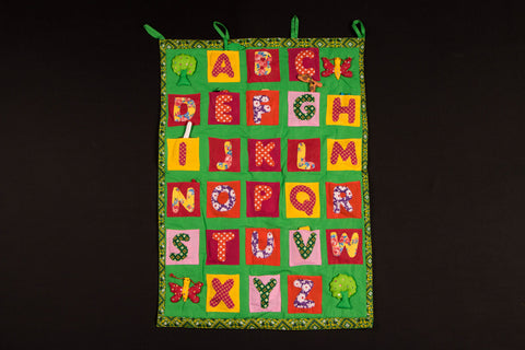Learning Alphabets Chart with Toys by SASHA