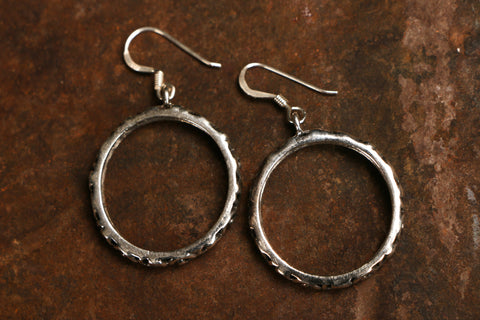 Sterling Silver Jaligar Earring