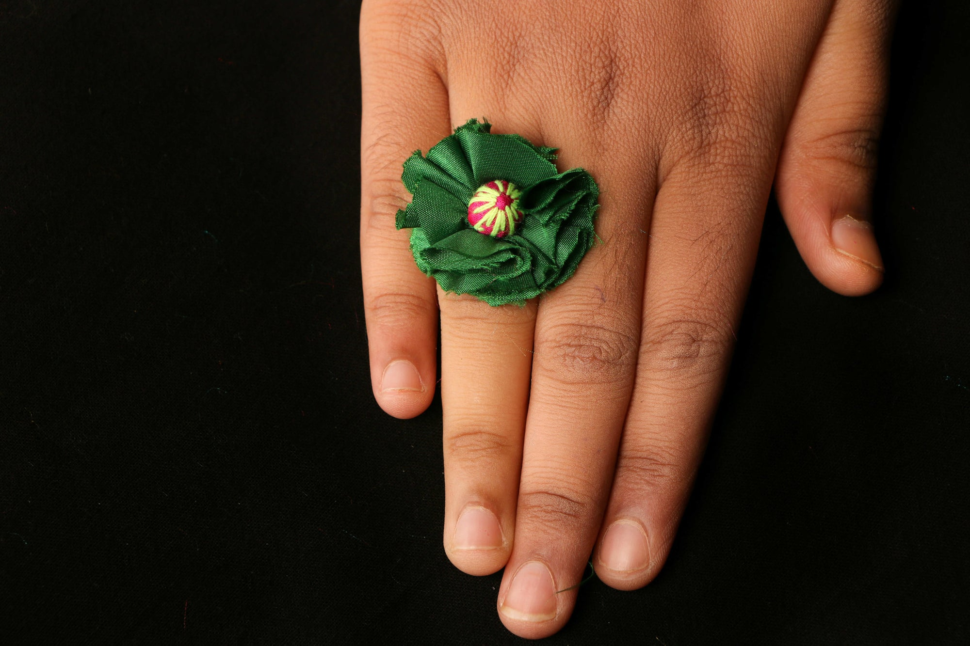 Jugaad Flower Ring