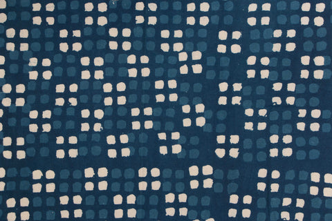 Block Print Precut Cotton Fabric - 1.4 Meter