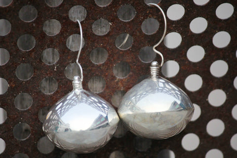 Sufi  Sterling Silver Earrings