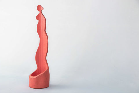 Standing Single Candle Holder