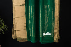 Traditional Chanderi Silk Zari Patela Handloom Saree by Rauph Khan