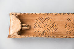 Bamboo Agarbatti Holder Tray