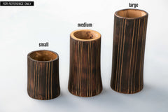 Bamboo Planter Stand - Small