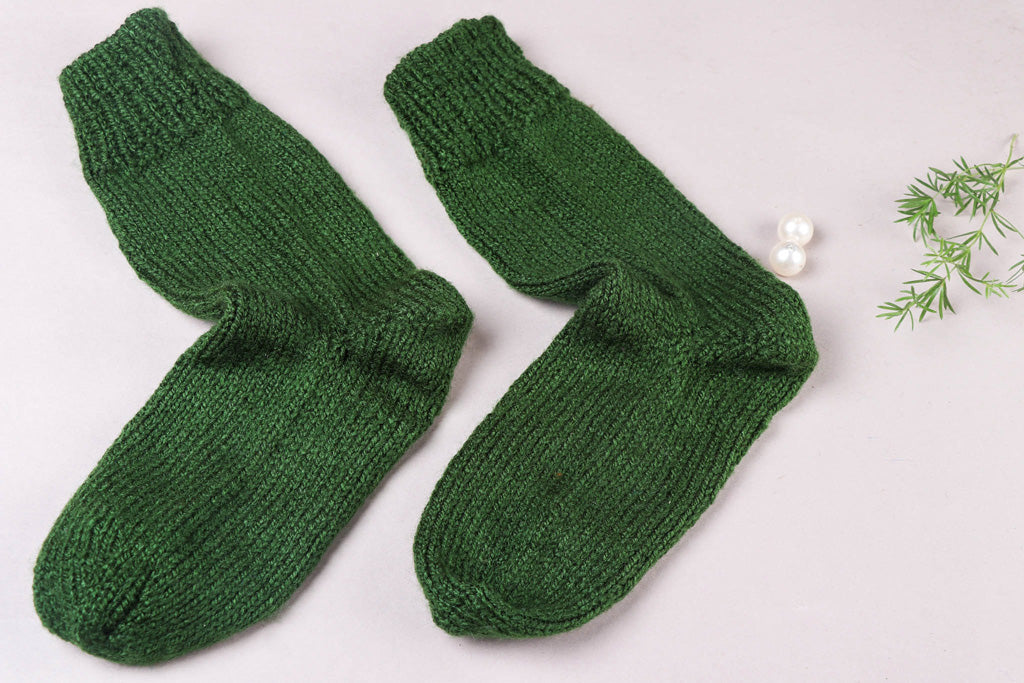 Kumaun Handknitted Woolen Socks - Adult