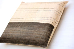 Tussar Silk Cushion Cover (15X15 inches)
