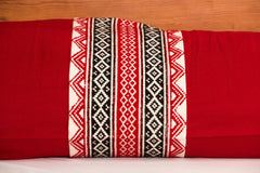 Tribal Toda Hand Embroidery Bolster Cover (Set of 2)
