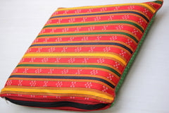Mashru Silk Cushion Cover (16X16 inches)