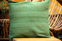 Tussar Silk Cushion Cover (12X12 inches)