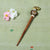 Handcarved Sambhal Wooden Beaded Juda Stick