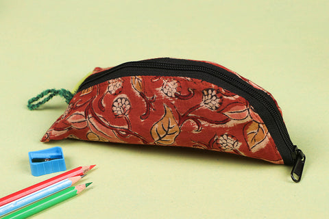 Jugaad Cotton Pencil Pouch