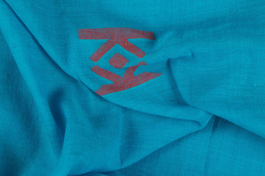 Bengal Jamdani Buti Handloom Cotton Fabric