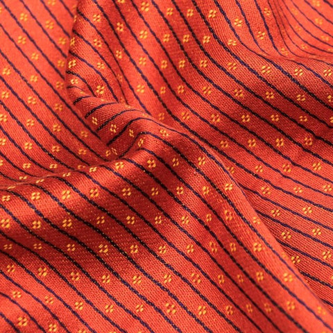 Orange/Purple/Yellow - Handwoven Mashru Silk Cotton Unstitched Fabric (width - 56 Centimeters)