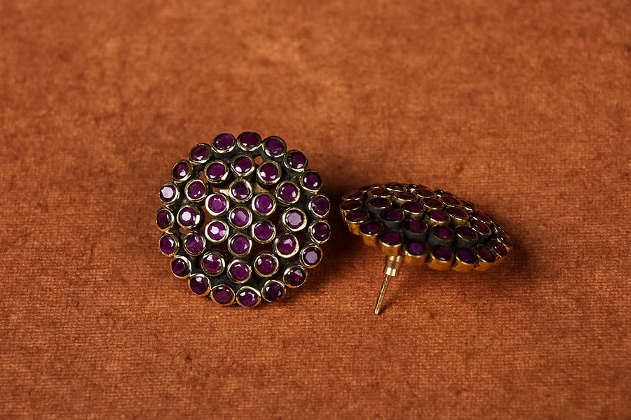 Maharashtrian Gold Plated Earring