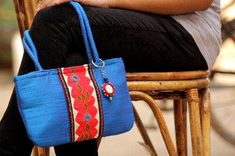 Nomads Embroidery Hand Bag By Sabala