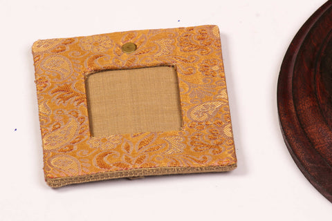 Recycled Brocade Silk Photo Frame