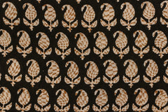 Bagru Dabu Block Printed Cotton Fabric