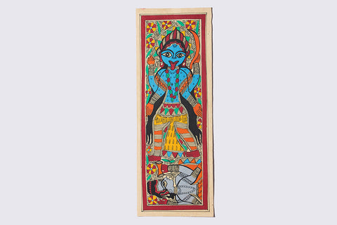 15in x 5.5in - Traditional Madhubani Painting