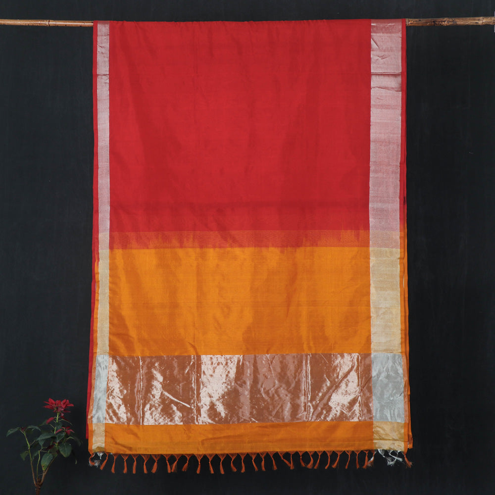 Traditional Venkatagiri Pure Handloom Silk Cotton Saree