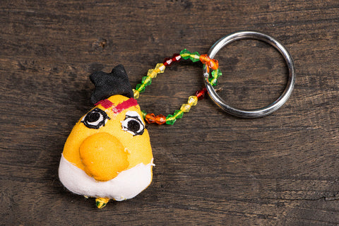 Angry Bird Key Ring
